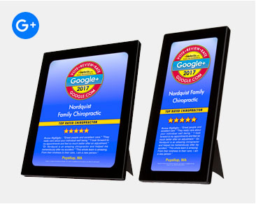 Google Plus Review Plaques