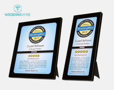 WeddingWire Review Plaques
